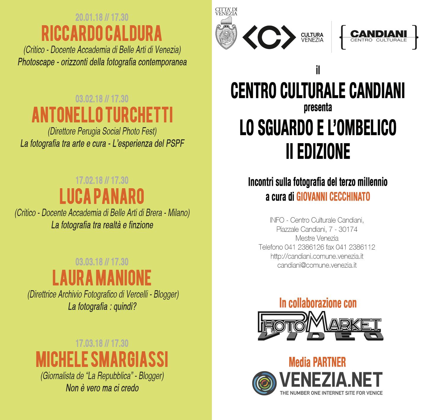 2018 - Lo Sguardo e l'Ombelico - Seconda Edizione