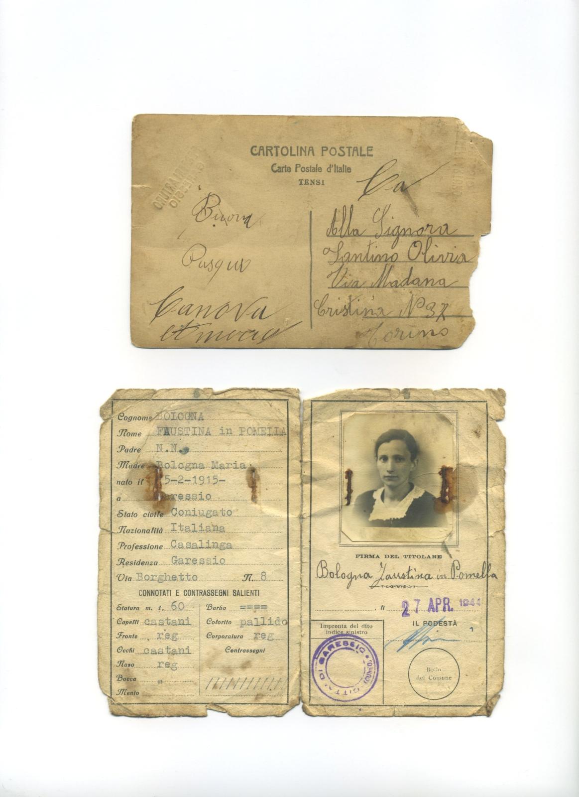 Bologna Faustina - 15/02/1915